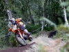 Taddy Blazusiak races at Hawkstone Park Cross-Country qualifying, Great Britain on September 22, 2018